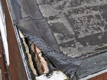 Roof Inspectiuon Damaged Felt